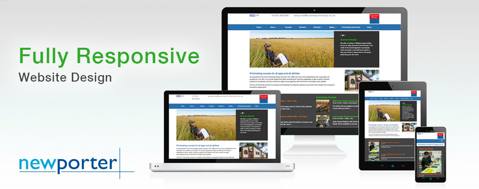 Responsive Website Design by Newporter Cambridge